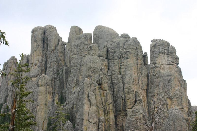 Rock Climbing Photo: Atop Balcony Point, Spire 2