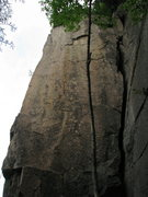 Rock Climbing Photo: all buffed up..Bigfoot Was Here(the arete) and The...