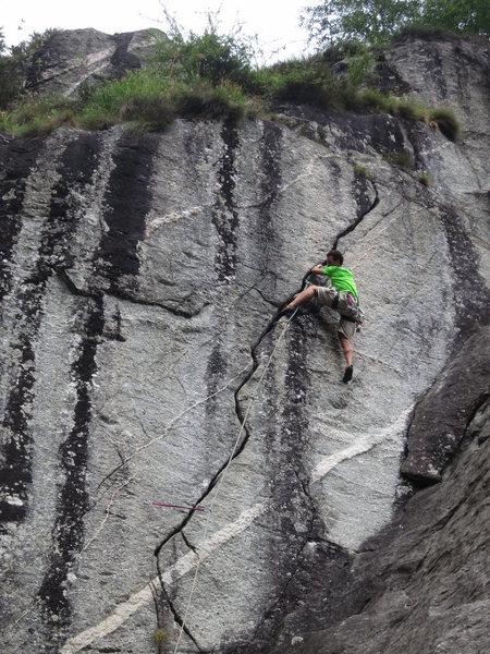 Rock Climbing Photo: Fessura della S