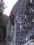 Rock Climbing Photo: Soloing the Bohab.