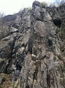 Rock Climbing Photo: No one told me to go on the road (3p) 10a 10a 10a....