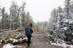 Rock Climbing Photo: Hike into Secret Lake/Jeff's World.