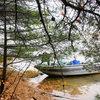 The boat landing for Secret Lake/Jeff's World on Crane Lake.