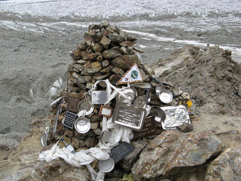 Rock Climbing Photo: Gilkey Memorial