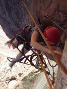 Rock Climbing Photo: Noy on the yeowza part