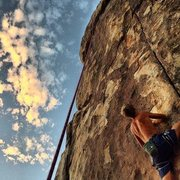 Rock Climbing Photo: workin