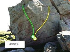Rock Climbing Photo: Brian's Thin and Phat