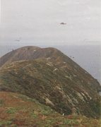 Rock Climbing Photo: Another primo summit shot, Point Loma on horizon a...