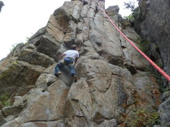 Rock Climbing Photo: Dominating a second time, 4 years after the first ...