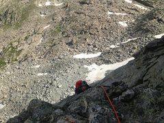 Rock Climbing Photo: Top of pitch 3