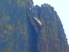Rock Climbing Photo: Deville Rocks looking different after July 2013 ro...