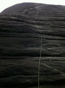 Rock Climbing Photo: The Nose @ Looking Glass Rock, North Carolina
