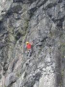 Rock Climbing Photo: Climbers on Illusion