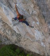 Rock Climbing Photo: Jess Groseth on Movement of Fear, 5.12c.  James Lu...