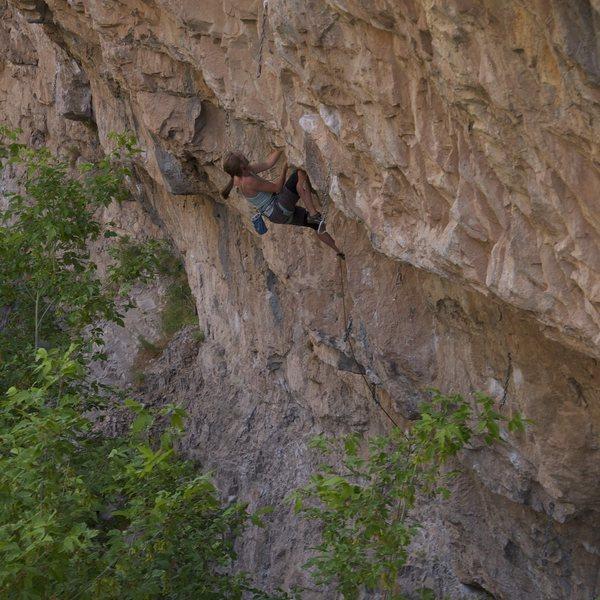 Amy Villacci on Slaggismo.<br> <br> James Lucas photo.