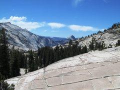 Rock Climbing Photo: Half Dome