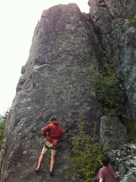 Rock Climbing Photo: The Sun Will Never Rise Again, Winter Block, Far S...