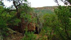 Rock Climbing Photo: Dablab's north face.