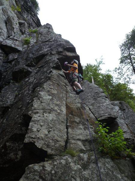 Rock Climbing Photo: walk softly and carry a big cam
