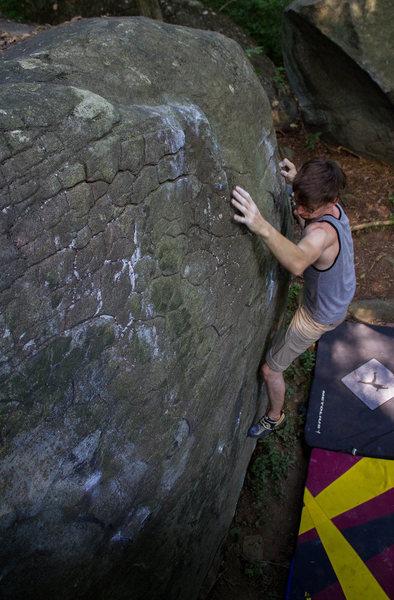 Rock Climbing Photo: Falling off yeast