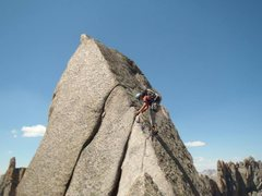 Rock Climbing Photo: Wolf's Head, Cirque of the Towers
