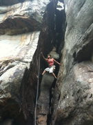 Rock Climbing Photo: New River Gorge, WV rock climbing with friends sum...