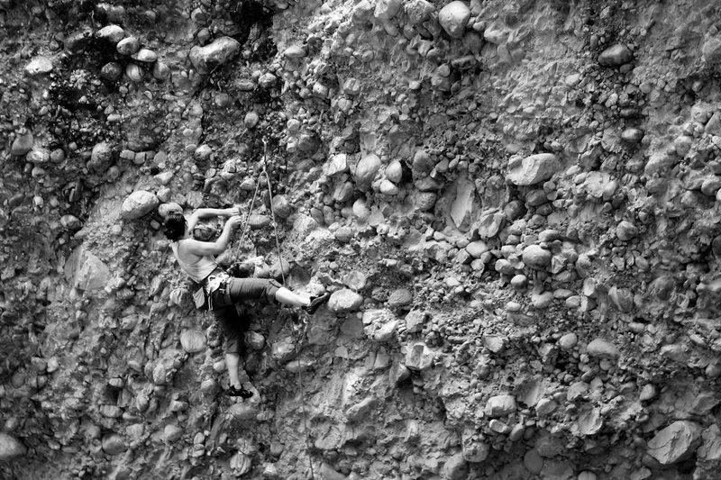 Rock Climbing Photo: jenn