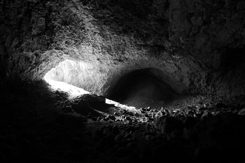 surprisingly huge cave near pipe dream