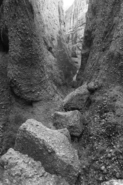 Rock Climbing Photo: looking back down the canyon