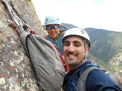 Rock Climbing Photo: Me and Norie on Icarus