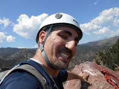 Rock Climbing Photo: The summit of Icarus