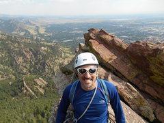 Rock Climbing Photo: Made it to the ridge