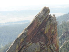 Rock Climbing Photo: Summit of the Third Flatiron from the First.