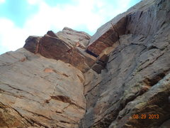 Rock Climbing Photo: This is the entire route.