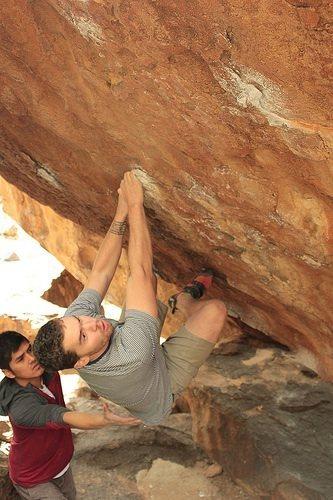 Rock Climbing Photo: Hueco Tanks