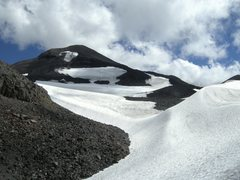 Rock Climbing Photo: Photo of Middle Sister and the Renfrew Glacier. Ph...