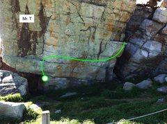 Rock Climbing Photo: Mr. T