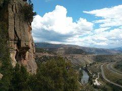 Rock Climbing Photo: Rappelling Chupacabra.