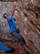 Rock Climbing Photo: Scott on Rings