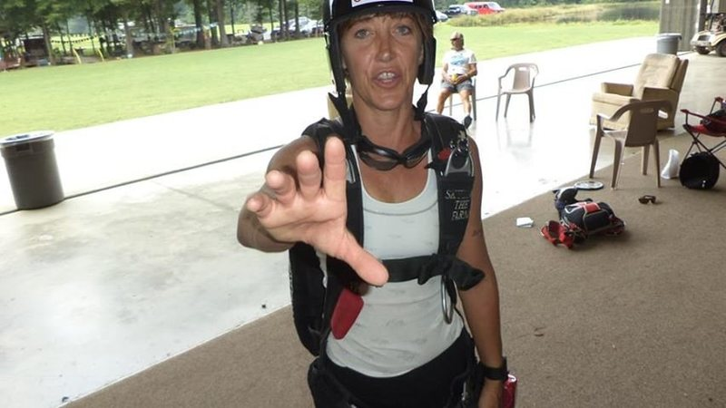 Rock Climbing Photo: At Skydive the Farm in Cedartown, Ga in August 201...
