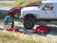 Rock Climbing Photo: Party on rednecks at Vantage!