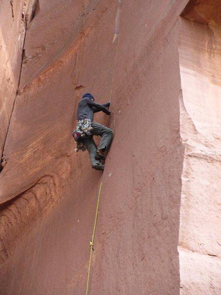 Rock Climbing Photo: more hand jams