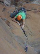 Rock Climbing Photo: pinkpoint (!) vertebrae