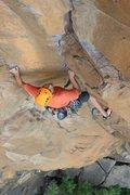 Rock Climbing Photo: smilin jay crimp