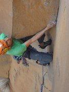 Rock Climbing Photo: vertebrae roof