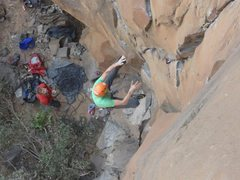 Rock Climbing Photo: vertebrae fall