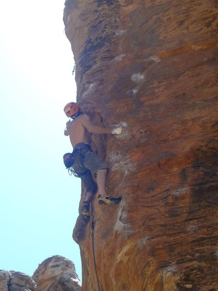 very very good sandstone sport climb