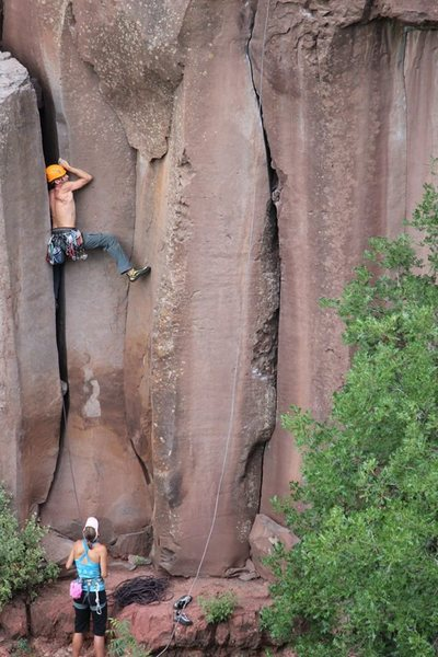Rock Climbing Photo: prow start