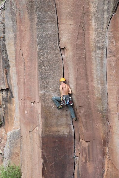 Rock Climbing Photo: rest on the prow