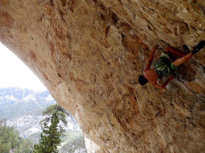 Rock Climbing Photo: Keoni Onsaga